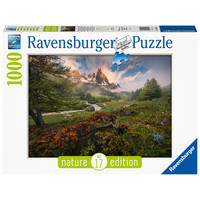 thumb-Picturesque atmosphere  - puzzle of 1000 pieces-2