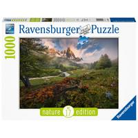 thumb-Schilderachtige sfeer - puzzel van  1000 stukjes-2