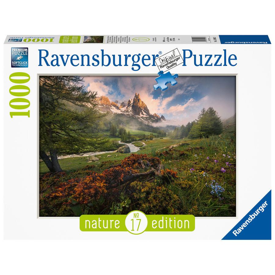 Picturesque atmosphere  - puzzle of 1000 pieces-2