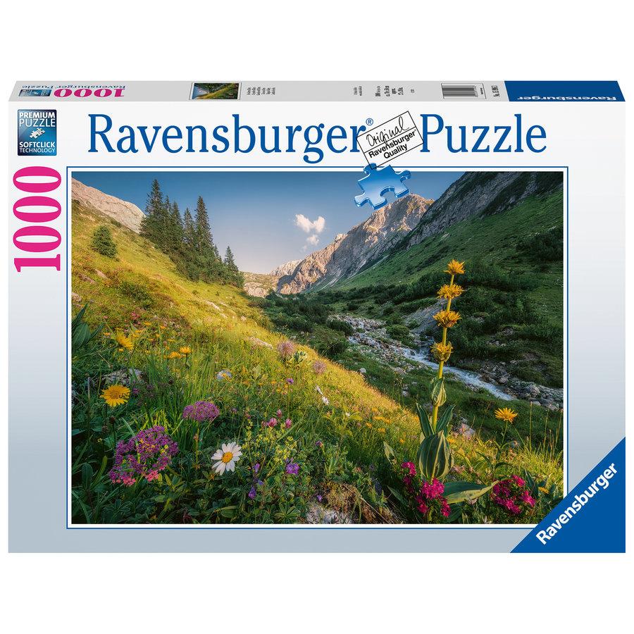 Garden of Eden  - puzzle of 1000 pieces-2