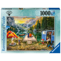 Calm Campsite - puzzel van  1000 stukjes