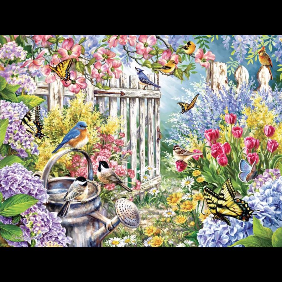 Le réveil du printemps - puzzle de 300 pièces XXL-1
