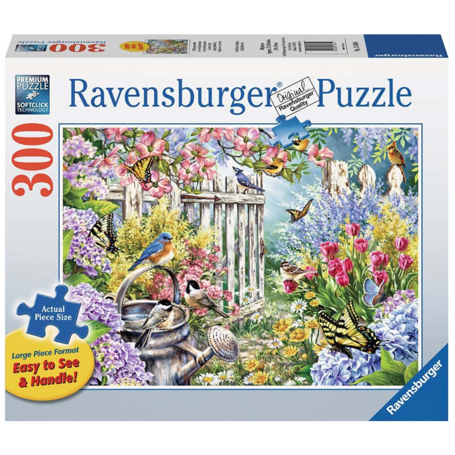 Le réveil du printemps - puzzle de 300 pièces XXL-2