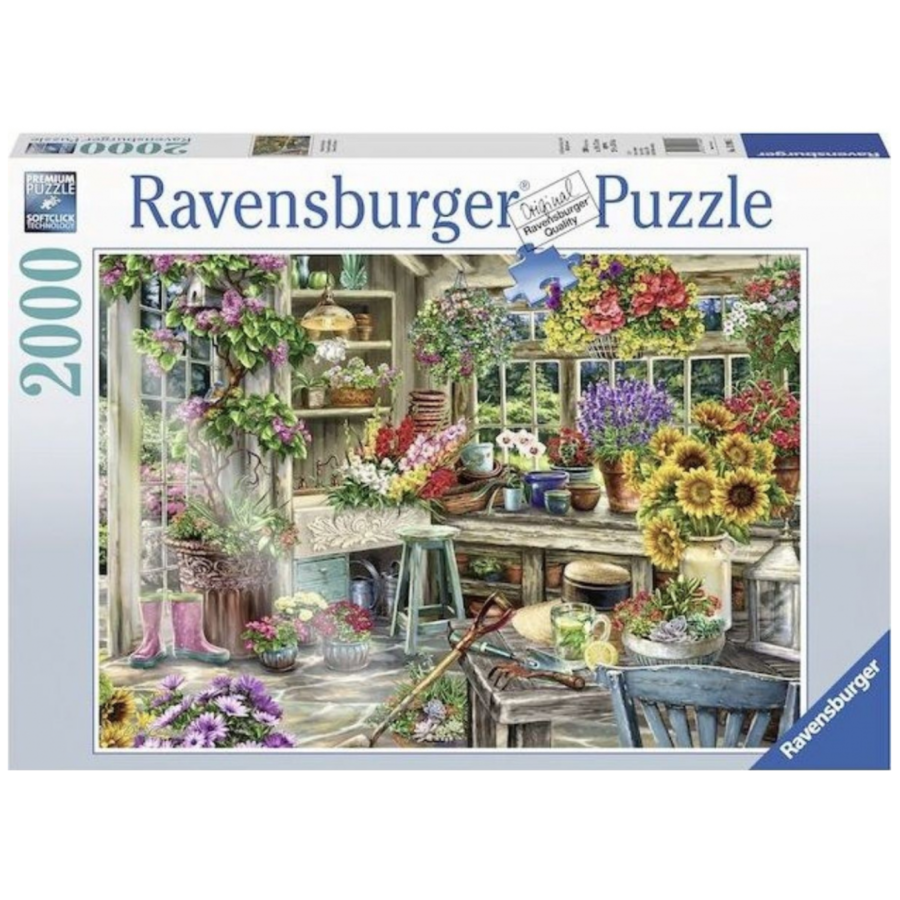 Gardener's Paradise - puzzle of 2000 pieces - Exclusive offer-2