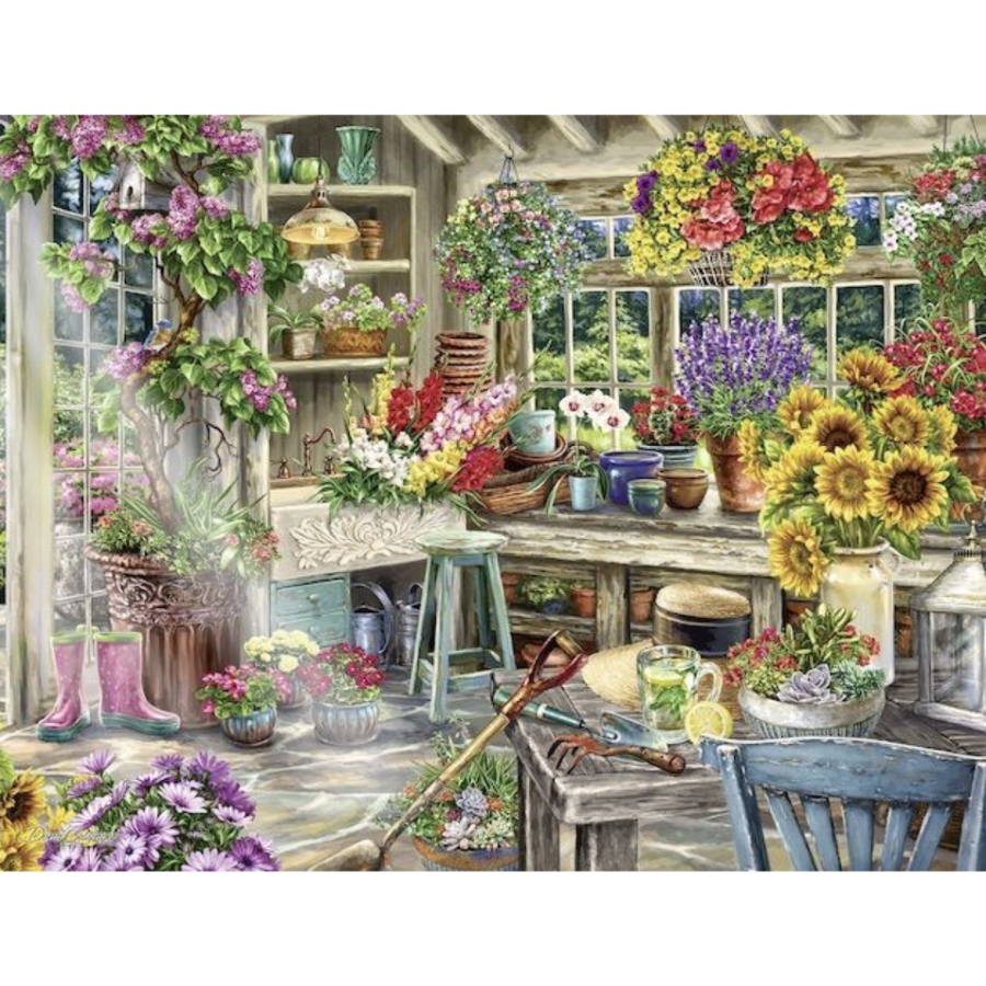 Gardener's Paradise - puzzle of 2000 pieces - Exclusive offer-1