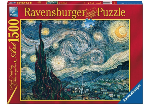 Ravensburger Starry Night - Van Gogh - 1500 pieces - Exclusive offer