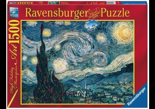 Ravensburger Sterrennacht - Van Gogh - 1500 stukjes - Exclusiviteit