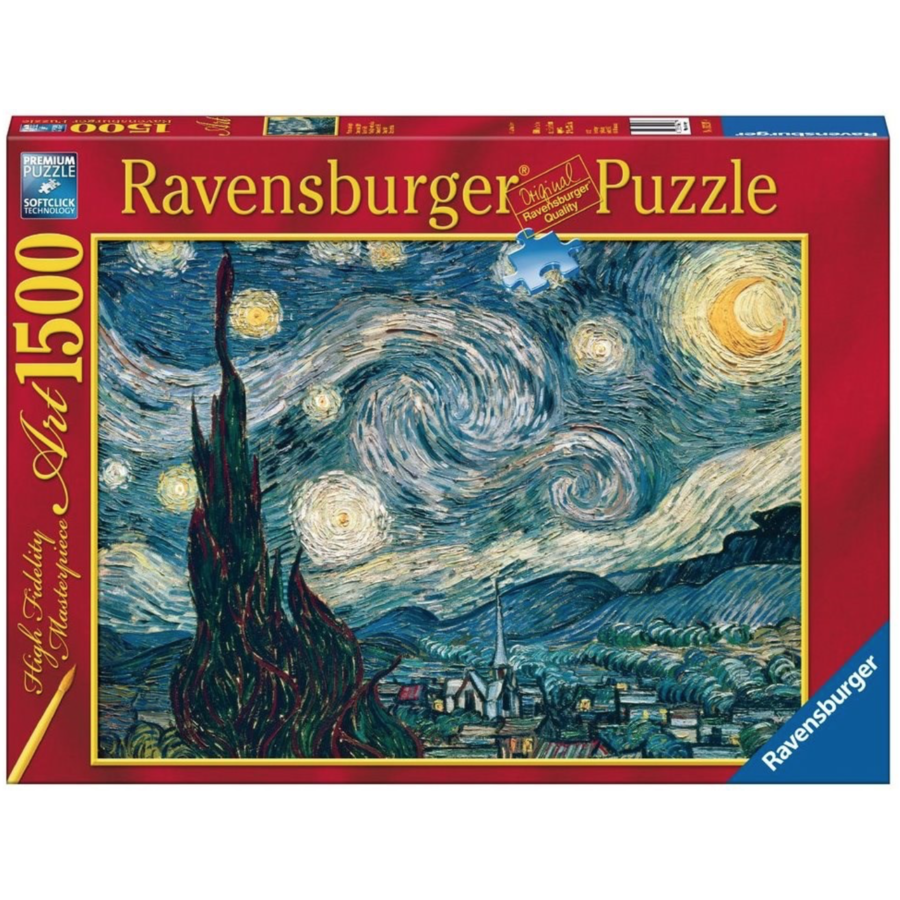 Starry Night - Van Gogh - 1500 pieces - Exclusive offer-1