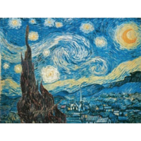 thumb-Starry Night - Van Gogh - 1500 pieces - Exclusive offer-2