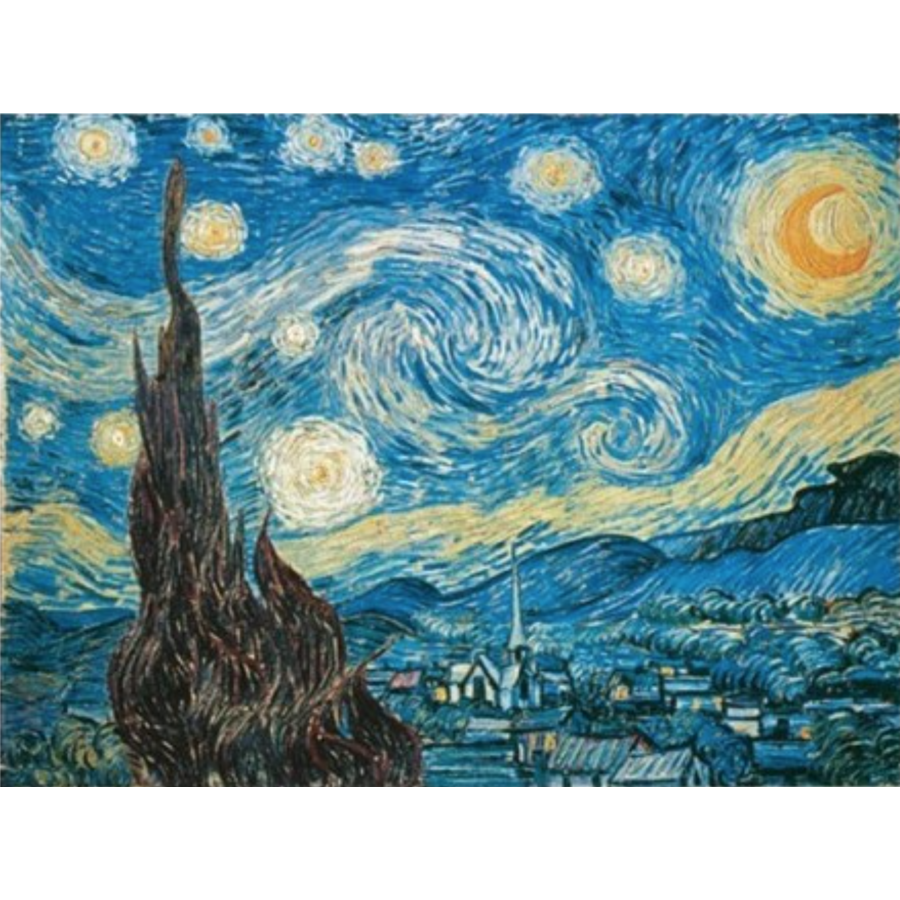 Starry Night - Van Gogh - 1500 pieces - Exclusive offer-2