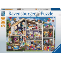 thumb-Gelini's house - puzzle of 5000 pieces - Exclusive-1