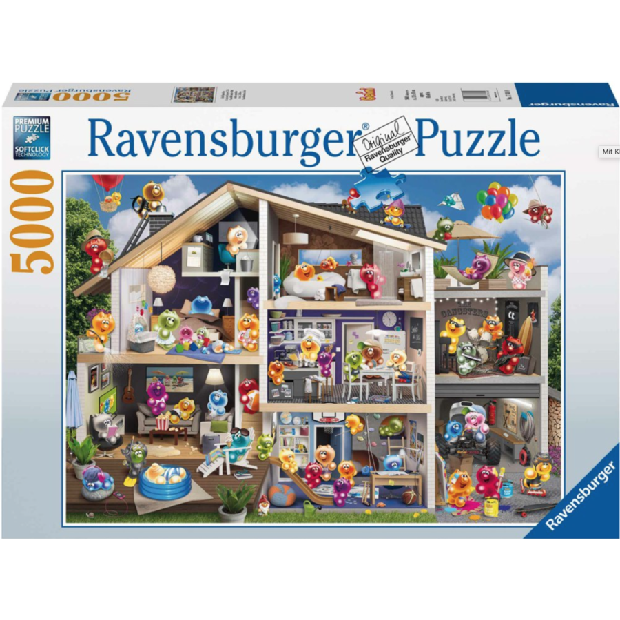 Gelini's house - puzzle of 5000 pieces - Exclusive-1