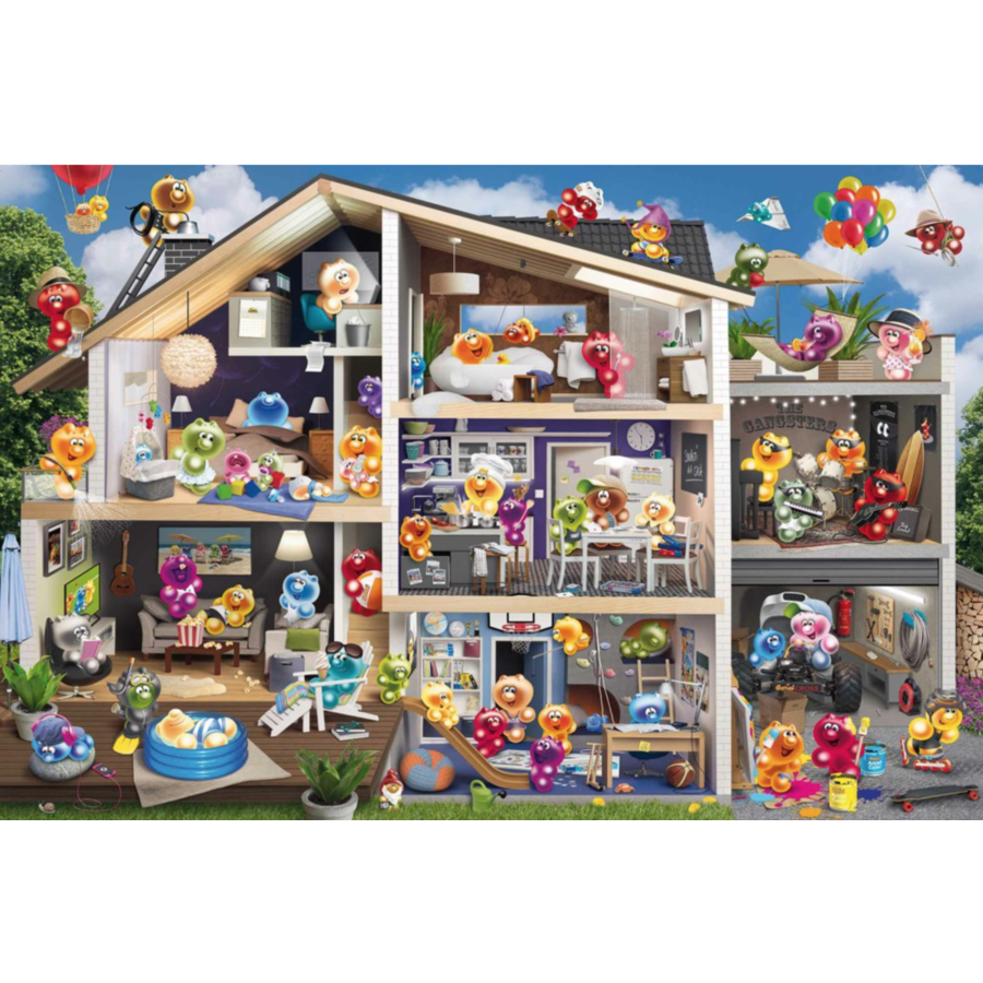 Gelini's house - puzzle of 5000 pieces - Exclusive-2