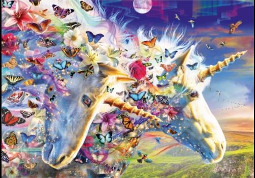 Bluebird Puzzle Rêve de licorne - 1000 pièces