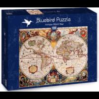 thumb-Antieke Wereldkaart - puzzel van 1000 stukjes-2
