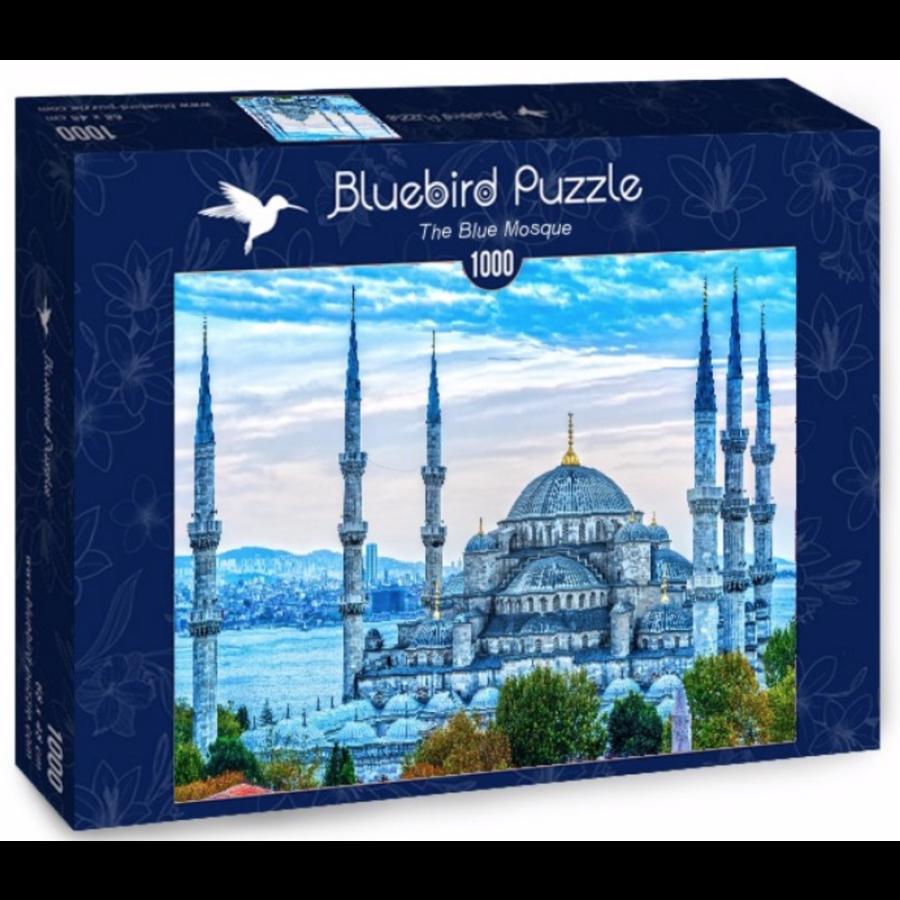 De Blauwe Moskee - puzzel van 1000 stukjes-2