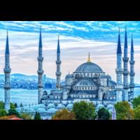 thumb-De Blauwe Moskee - puzzel van 1000 stukjes-1