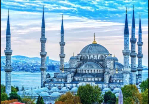 La Mosquée bleue - 1000 pièces