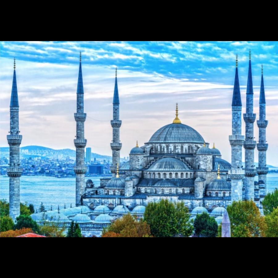 De Blauwe Moskee - puzzel van 1000 stukjes-1