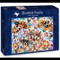 thumb-Collage de selfies d'animaux - puzzle de 1000 pièces-2