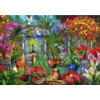 Bluebird Puzzle Tropical Green House - puzzle of 1000 pieces