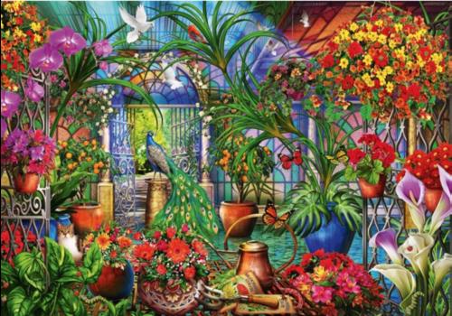 Bluebird Puzzle Tropische serre - 1000 stukjes