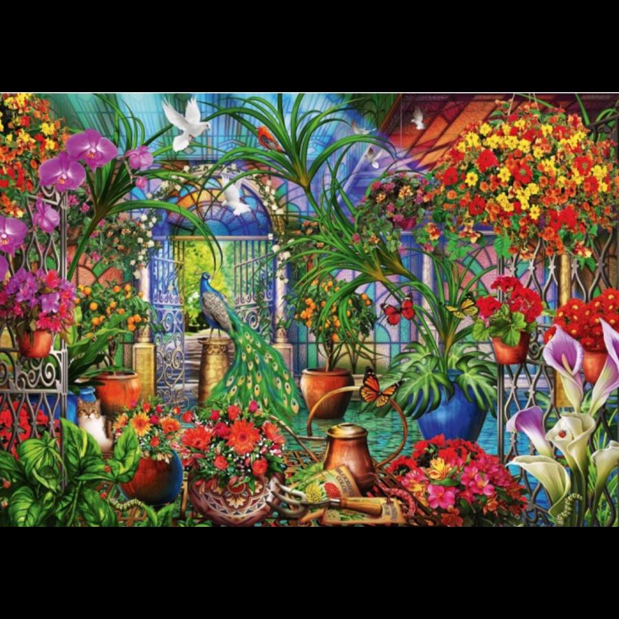 Tropische serre - puzzel van 1000 stukjes-1
