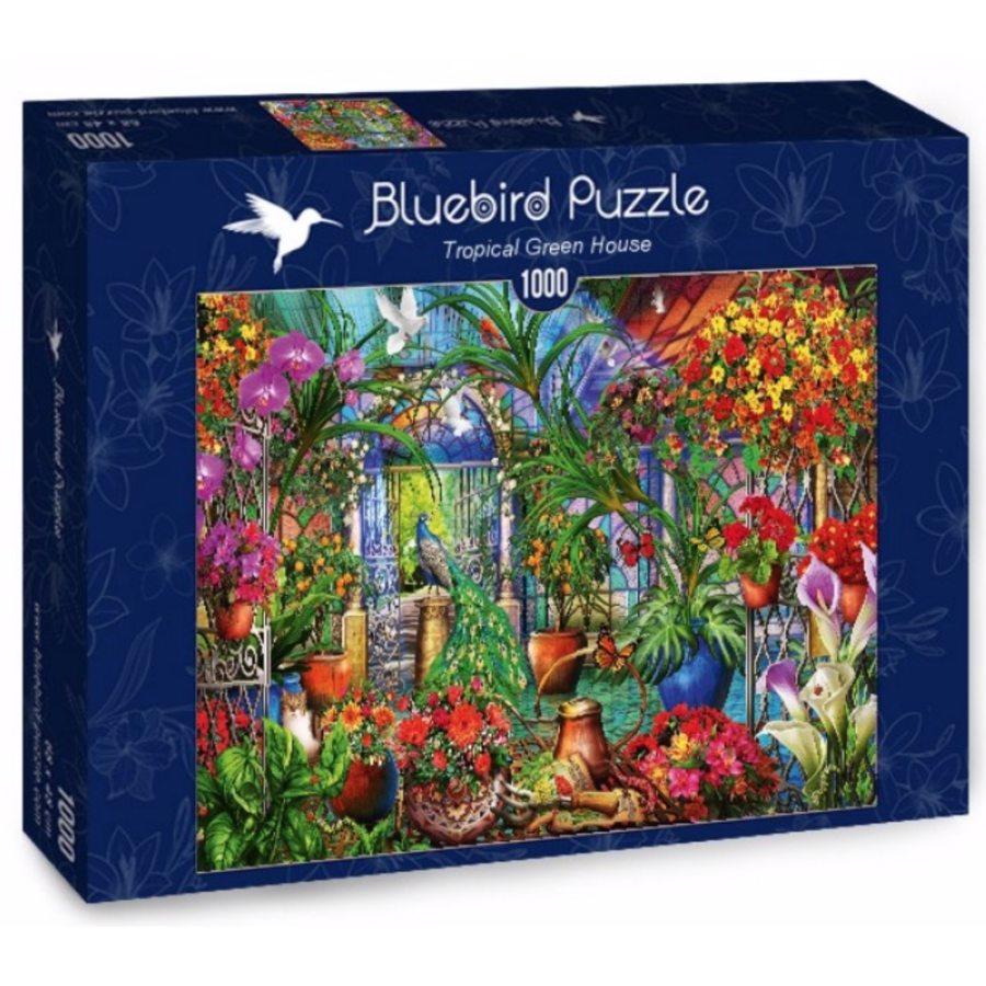 Tropical Green House - puzzle of 1000 pieces-2