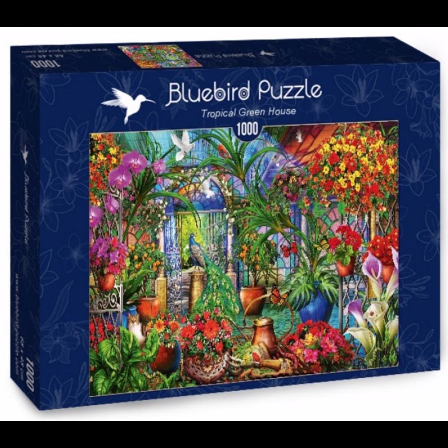 Tropische serre - puzzel van 1000 stukjes-2