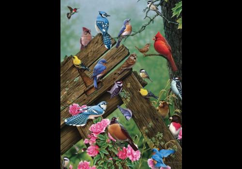 Vogels uit het bos - 35 stukjes