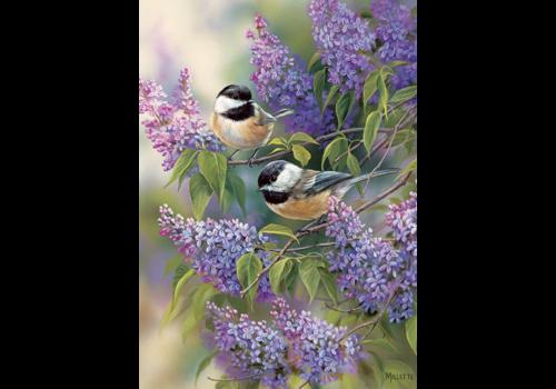 Seringen met vogeltjes - 35 stukjes