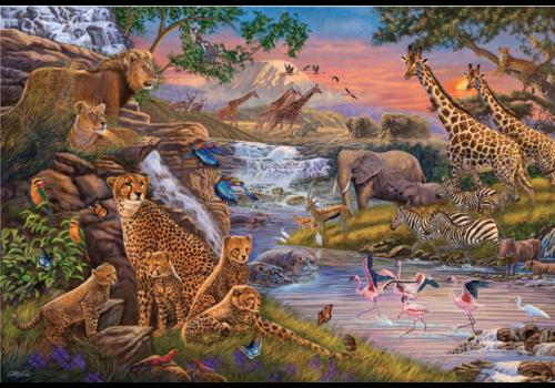 Ravensburger Le royaume des animaux - 3000 pièces