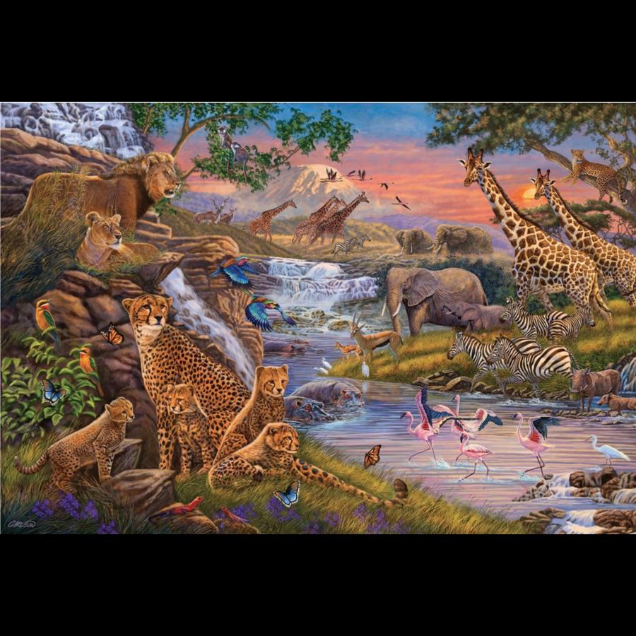 Dierenrijk - puzzel van 3000 stukjes-1