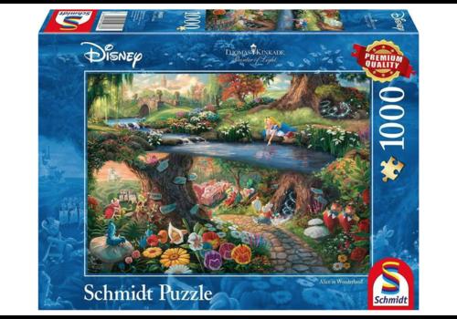 Alice in Wonderland  - 1000 pieces
