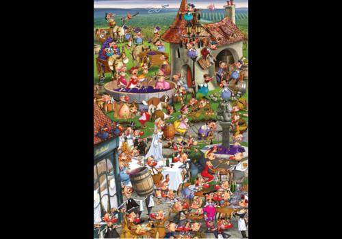 Piatnik Wijn, het verhaal - Comic - 1000 stukjes