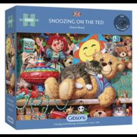thumb-Een dutje op de beer - puzzel van 1000 stukjes-1