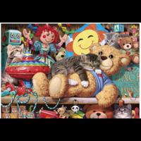 thumb-Een dutje op de beer - puzzel van 1000 stukjes-2