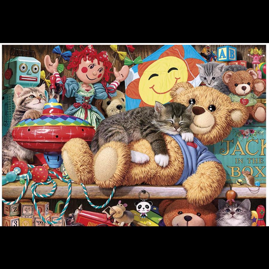 Een dutje op de beer - puzzel van 1000 stukjes-2
