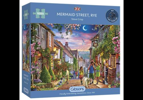 Gibsons Mermaid Street, Rye - 1000 pièces