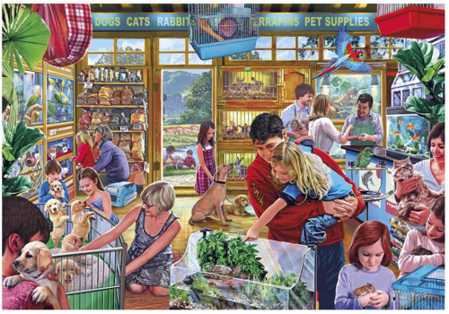 Gibsons Furry Friends - 1000 pieces