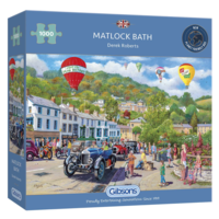 thumb-Oldtimers in Matlock Bath - puzzel van 1000 stukjes-1