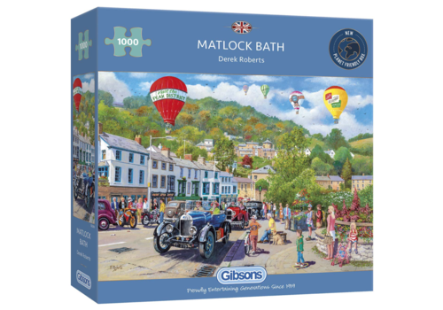 Gibsons Vintage cars in Matlock Bath  - 1000 pieces