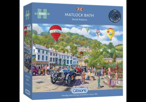 Gibsons Voitures anciennes à Matlock Bath  - 1000 pièces