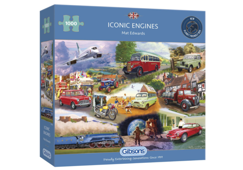 Iconic Engines  - 1000 pieces