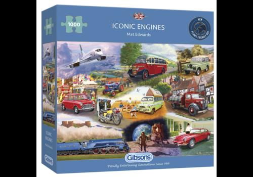 Iconische motoren - 1000 stukjes