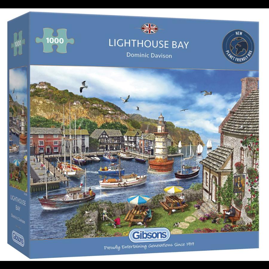 La Baie du Phare - puzzle de 1000 pièces-1