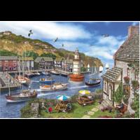 thumb-La Baie du Phare - puzzle de 1000 pièces-2