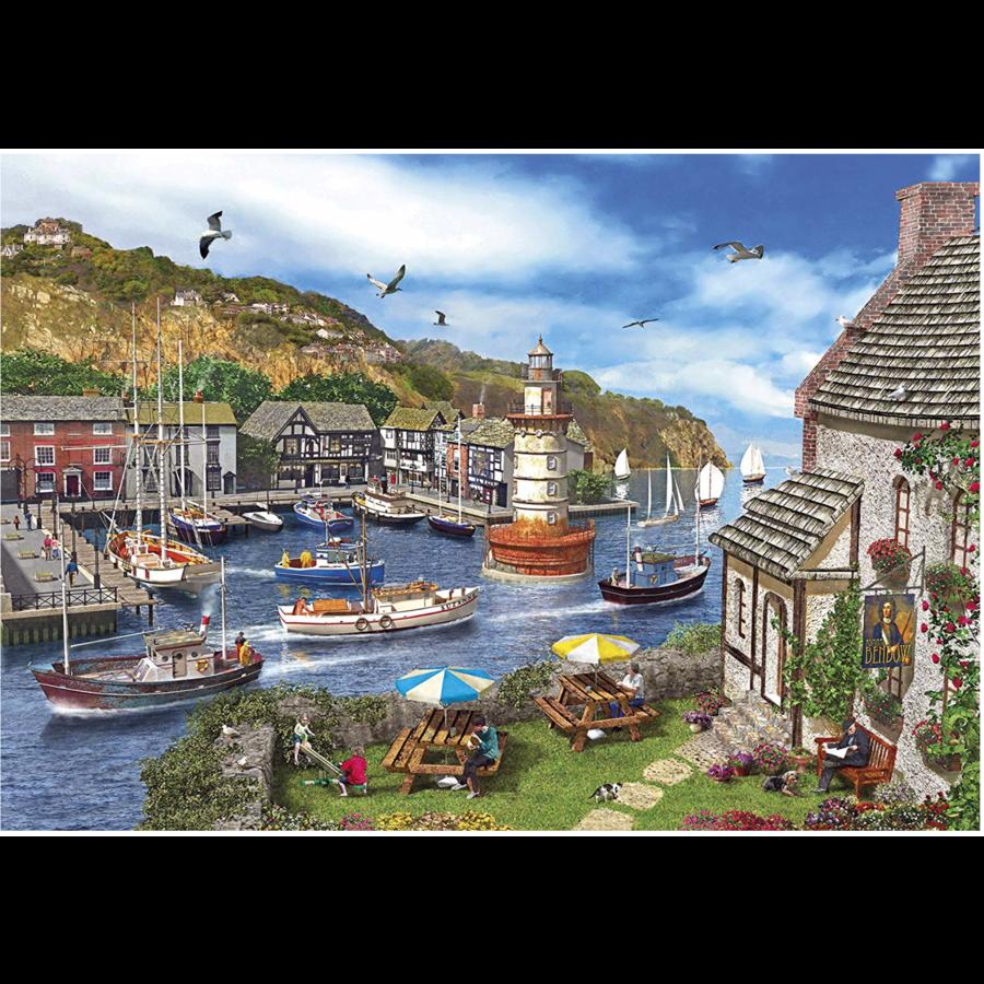 La Baie du Phare - puzzle de 1000 pièces-2