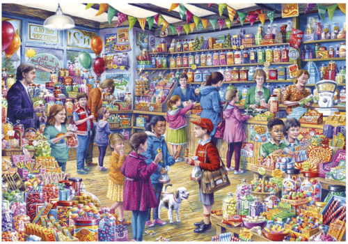 Gibsons The Old Sweet Shop - 1000 pieces