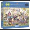 Gibsons Mad Catter's Tea Party  - puzzel van 250XL stukjes